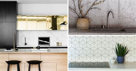 9 ideas for backsplash materials you can install in your