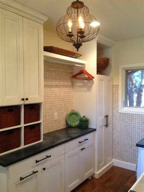 Laundry Room Cabinets With Hanging Rod Siudy Net Hanging Laundry Room Cabinets