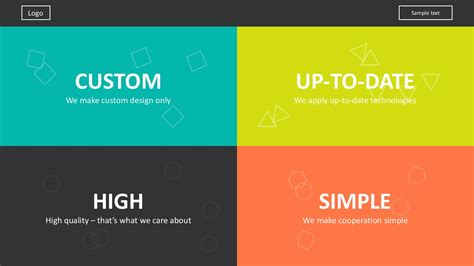 Website Development Presentation Template For Powerpoint flat design icons website development template