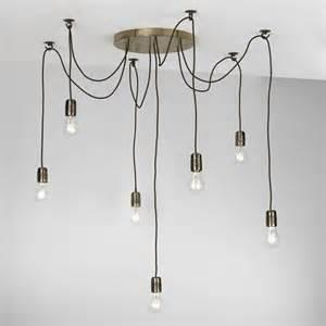 cluster pendant lighting dar lighting huc3463 huckleberry 7 light cluster pendant