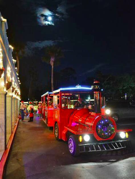 nights of lights trolley tour nights of lights trolley in florida is a
