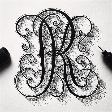 tattoo designs letters intertwined 17 best images about monogramy on fonts