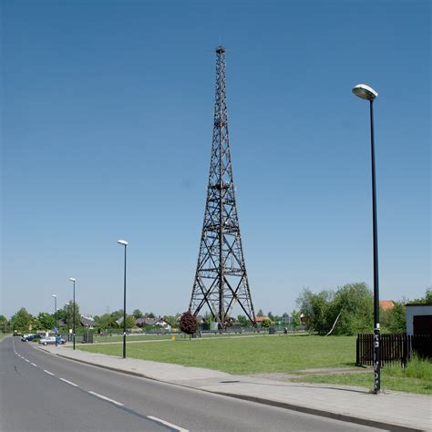 radio tower gliwice radio tower wikiwand