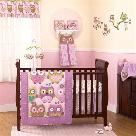 Great Baby Girl Nursery Ideas Nursery Decoration Ideas Owl Themed Baby Bedding