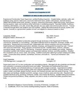 Resume Definition Merriam Carpenter Resume Sle Resumes Design