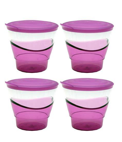 Tupperware Eleganzia Set tupperware eleganzia tumbler plastic containers set of 4