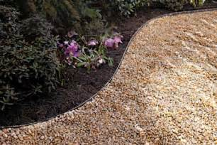 how to lay a gravel path this house