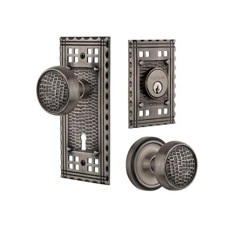 craftsman door knob sets nostalgic warehouse
