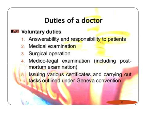 Duties Of A Surgeon by Ethics