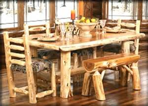 Log Cabin Dining Table Log Cabin Dining Room Furniture Rustic Dining Room Furniture