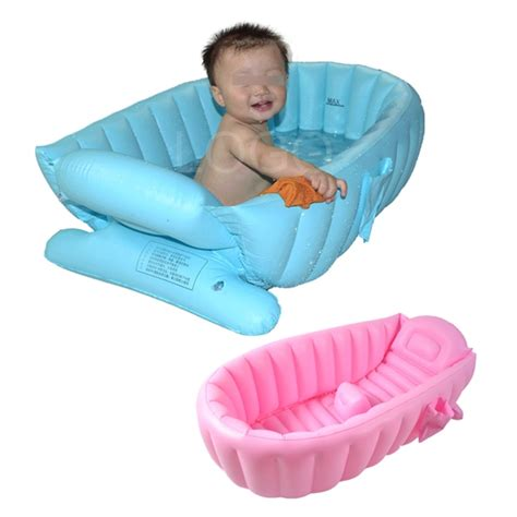 inflatable bathtubs for toddlers summer portable baby kid toddler bath tub inflatable bathtub thick bath tub