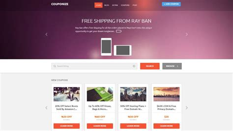 couponize wordpress theme download review 2018
