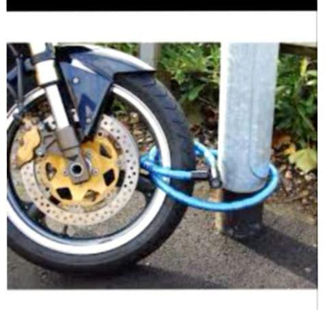cadena moto seguridad cadena tubular de seguridad para moto o bicicleta 6