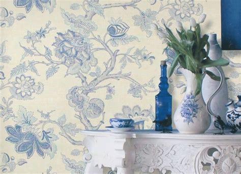 Blaue Tapete Mit Muster by Gestalten Sie Ihre Wand Mit Retro Tapeten