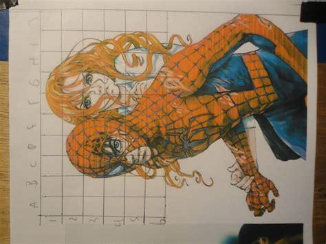 imagenes de spiderman para dibujar a lapiz dibujando a spiderman y mary jane taringa