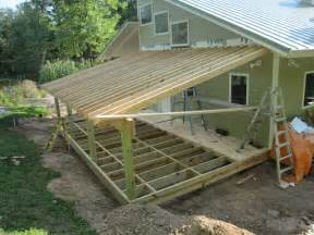 Awning Tie Down Get How To Build A Shed Roof Attached To House Sanki
