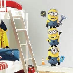 minion wall stickers amazon com roommates rmk2081gm despicable me 2 minions