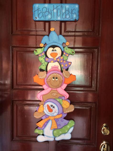dibujos para decorar puertas de navidad m 225 s de 1000 ideas sobre adornos navide 241 os para puertas en