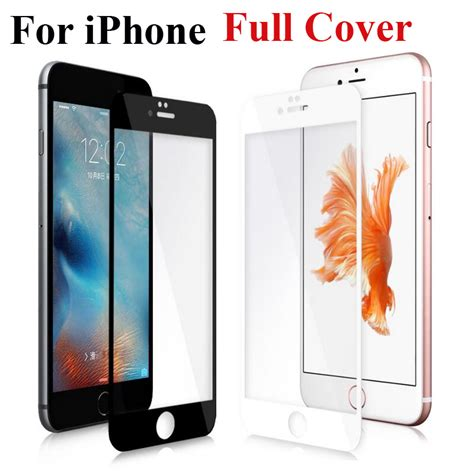Tempered Glass And Phone For Iphone 6 Plus cover screen protector tempered glass for iphone 6 6s plus 6plus 6splus 7 toughened glass