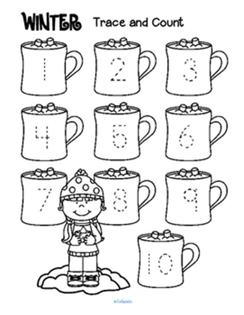 27 winters and counting books winter theme activities and printables for preschool and