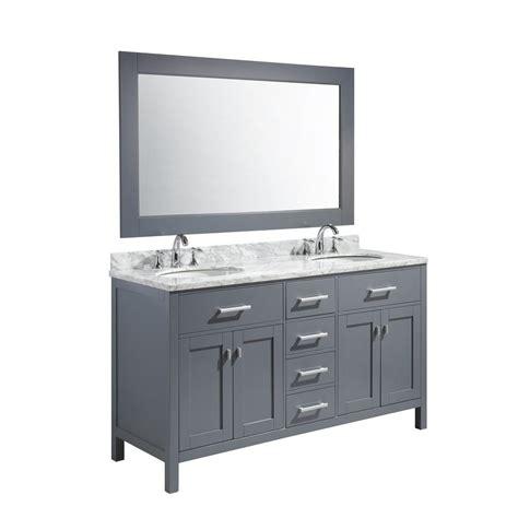 home depot design element vanity design element london 61 in w x 22 in d x 35 5 in h