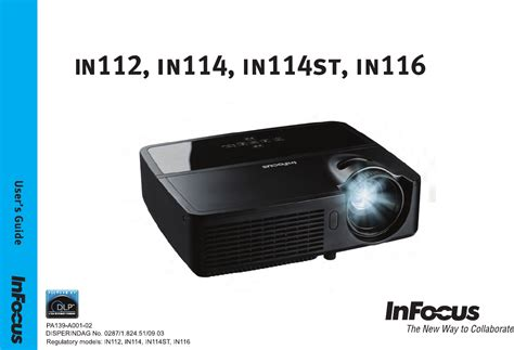 Lu Projector Infocus In114 handleiding infocus in114 pagina 1 35 portugu 234 s