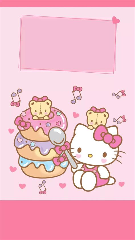 wallpaper hello kitty mini hello kitty phone wallpaper 65 images