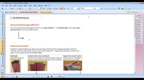 onenote tutorial youtube ms onenote 2007 basics tutorial youtube