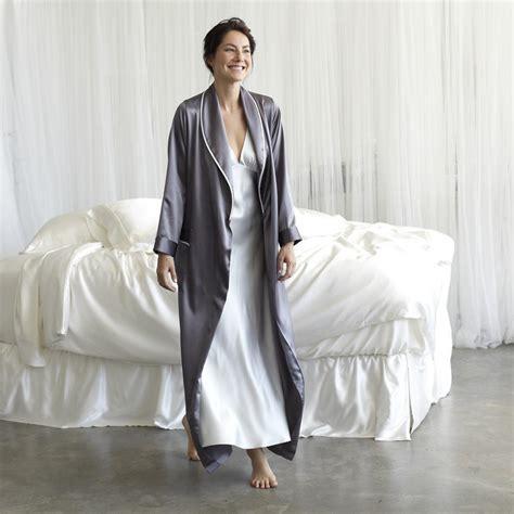 silk robe silk robes s pink black silk robes manito silk