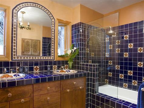 Shower Ideas Small Bathrooms 44 top talavera tile design ideas