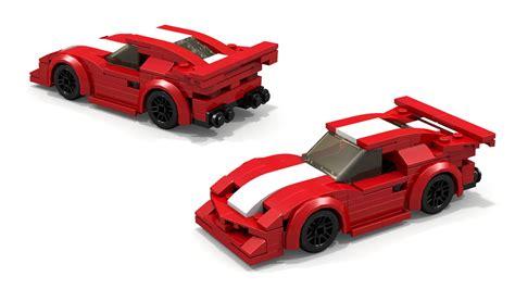 Ferrari Enzo Race Car by Lego Ferrari Fxx Race Car Instructions Youtube