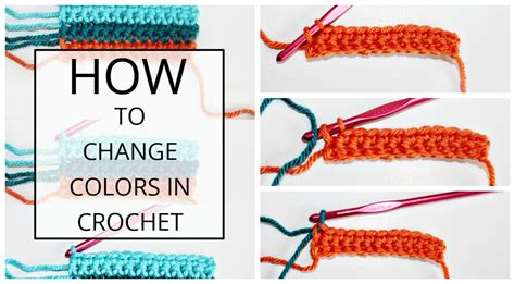 how to change colors crochet how to change colors in crochet