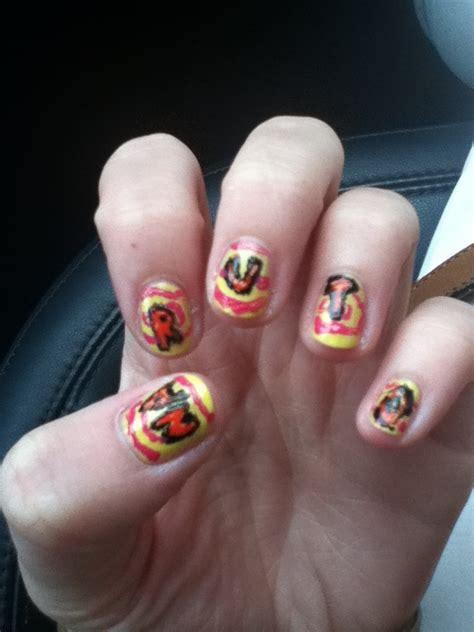 Naruto Nail Art Tutorial | naruto nail art by inuyuusha on deviantart