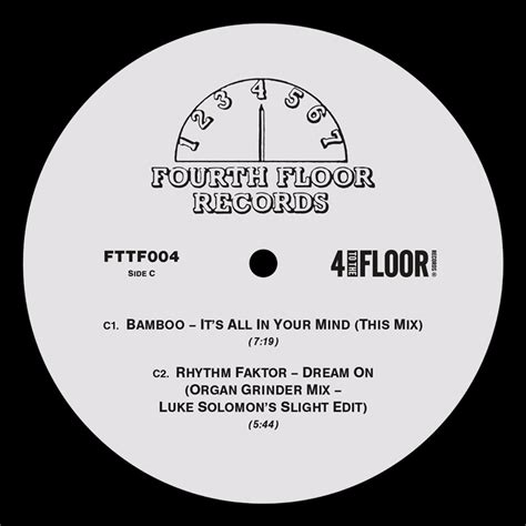 Fourth Floor Records by 4 To The Floor Presents Fourth Floor