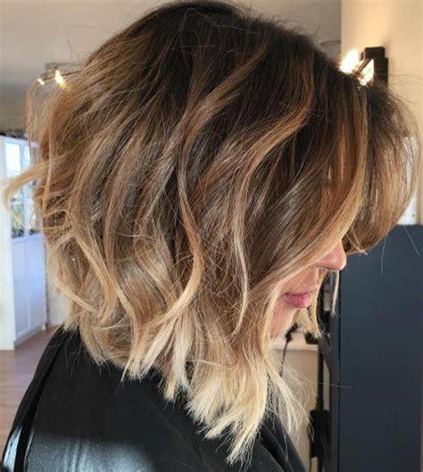 long angled bob with omnre color 60 inspiring long bob hairstyles and lob haircuts 2018