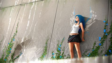 girl themes for pc anime girl mini skirt hd anime 4k wallpapers images