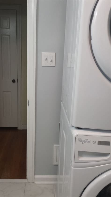 hide washer and dryer how to hide side of stackable washer dryer