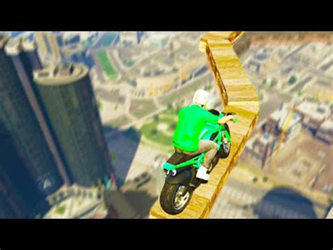 the impossible air stunt! (gta 5 funny moments) youtube