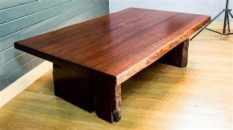 making  beautiful jarrah coffee table rustic coffee