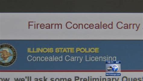 concealed carry permit story kellie mejdrich some illinois concealed carry applicants notified of