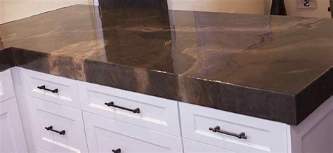 diy concrete countertops kits diy concrete countertop overlay kit deductour
