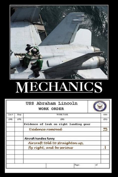 Mechanics Memes - funny aircraft mechanic memes dog breeds picture