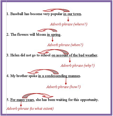 phrases types prepositional appositive absolute