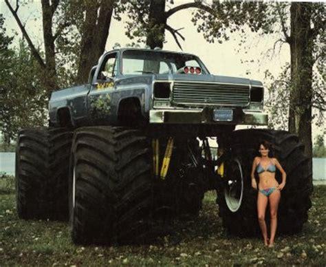 old monster truck videos oldschool