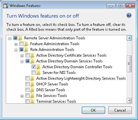 install remote server administration tools rsat