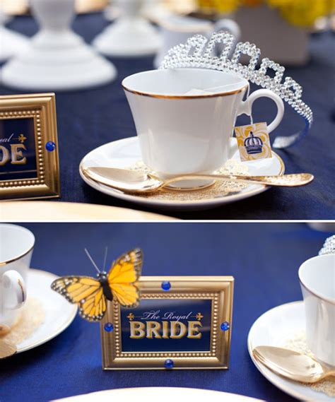royal wedding bridal shower yellow and blue wedding inspiration heavenly blooms