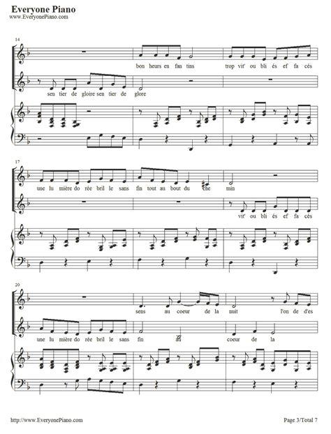 tutorial piano vois sur ton chemin partition piano voie sur ton chemin