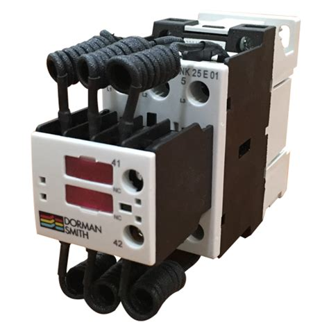 capacitor switching contactor dorman smith power quality correction