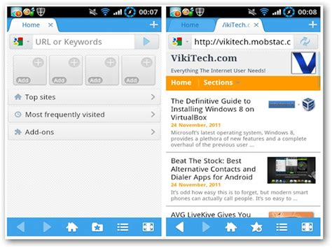 android browser update best alternative web browsers for android beat the stock series
