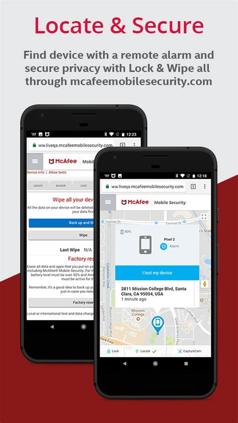 mcafee mobile security apk mcafee mobile security lock android apps on play